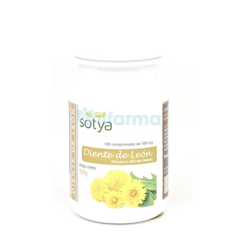 Sotya Diente de Leon 500 mg 100 comprimidos