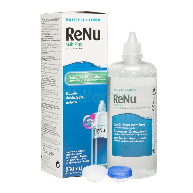 Renu Multiplus Sol Bausch Lomb 360 ml