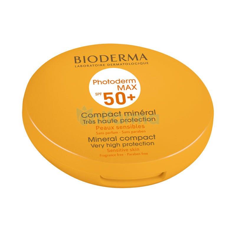 Bioderma Photoderm Max SPF50 Compacto Solar Mineral Tono Dorado 10 Gramos