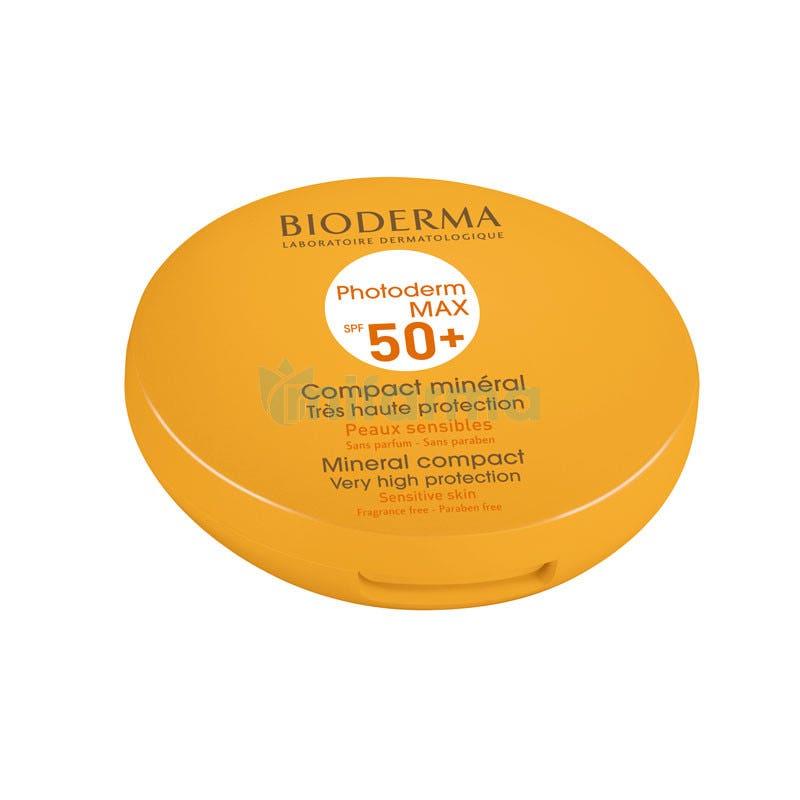 Bioderma Photoderm Max SPF50 Compacto Solar Mineral Tono Claro 10 Gramos
