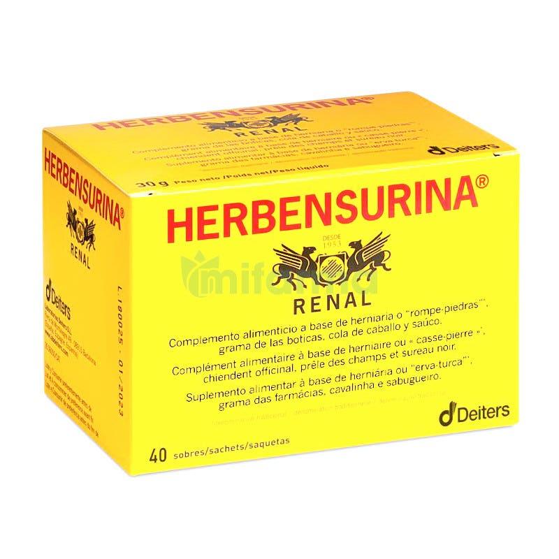 Herbensurina 40 Sobres Filtros