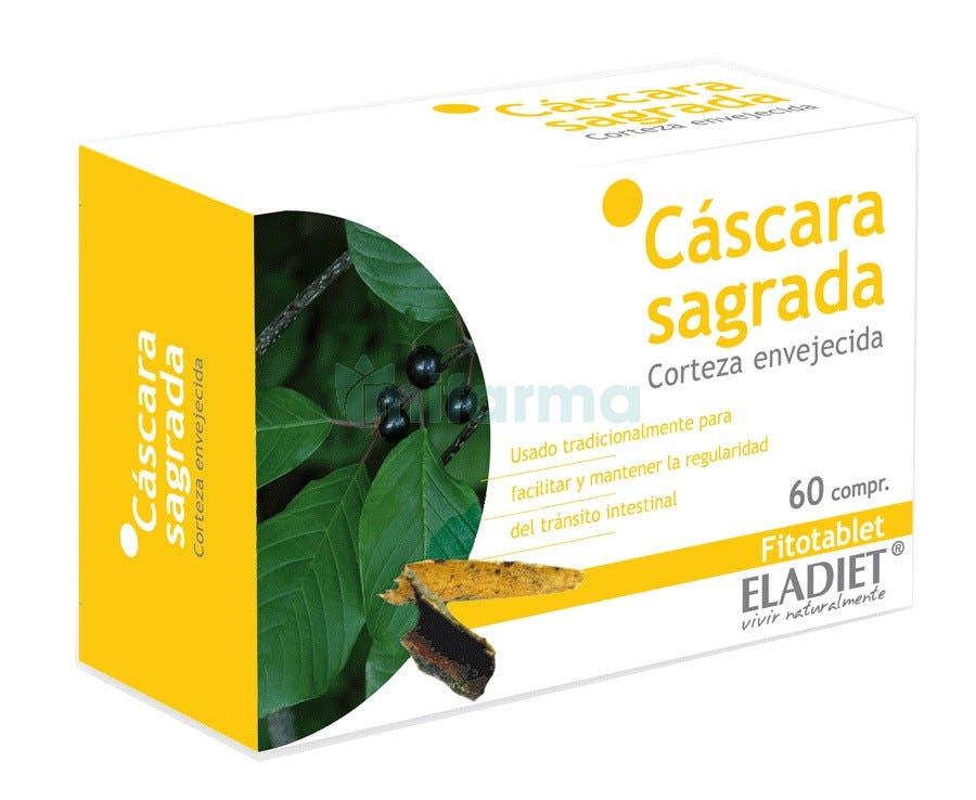 Eladiet Fitotablet Cascara Sagrada 60 Comprimidos