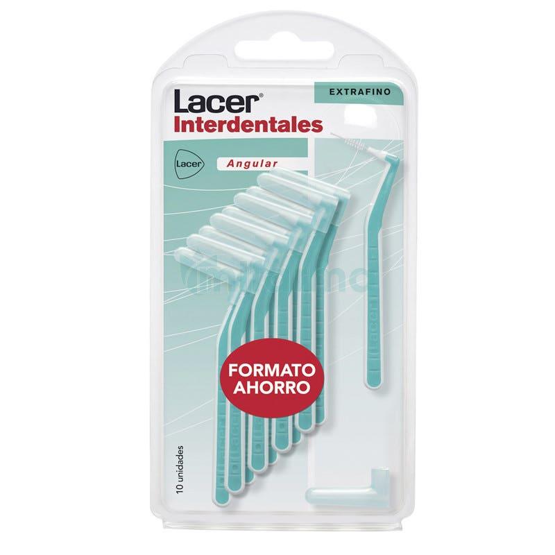 Lacer Interdentales Extrafino Angular 10 Unidades