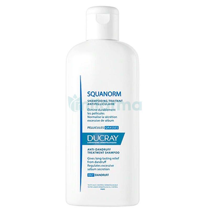 Ducray Squanorm Champu Anti-Caspa Grasa 200 ml