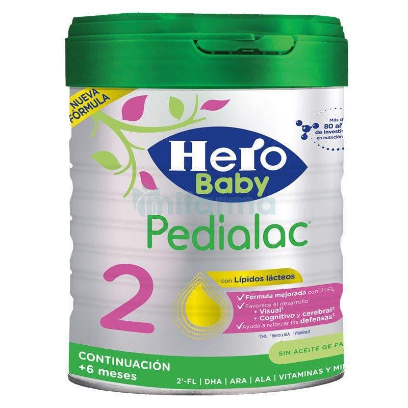 Pedialac 2 Leche de Continuacion 800 Gramos Hero Baby