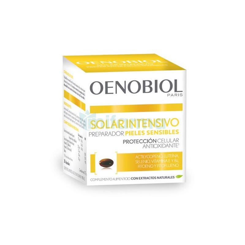 Oenobiol Solaire Intensif Nutriproteccion Pieles Claras 30 Capsulas