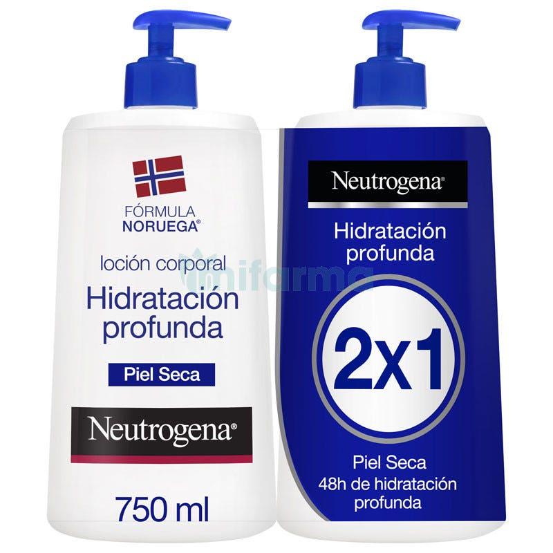 NEUTROGENA Body Piel Seca Azul 750 ml 750 ml DUPLO AZUL