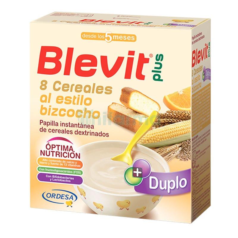 Blevit Plus 8 Cereales Estilo Bizcocho 600gr