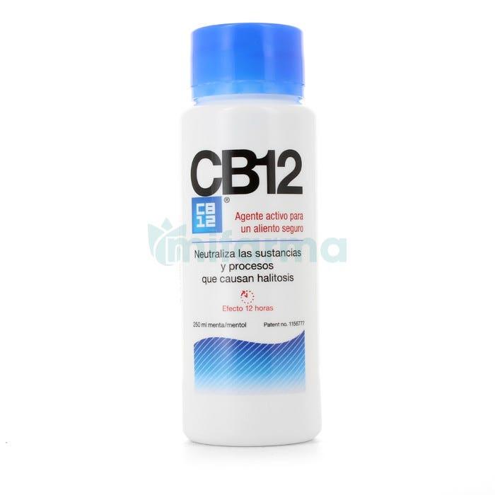 CB12 La Solucion contra la Halitosis 250 ml Menta