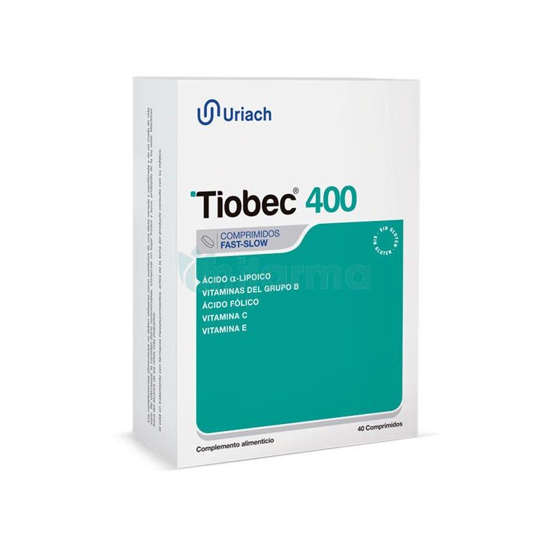 Tiobec Uriach 40 Comprimidos