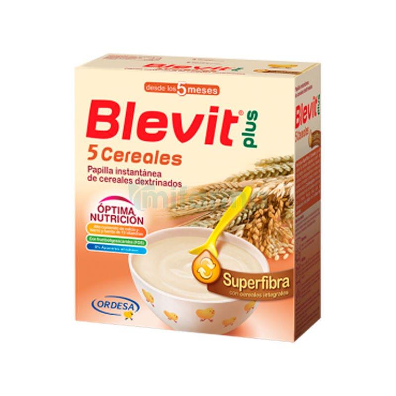 Blevit Plus Superfibra 5 Cereales 600 Gramos