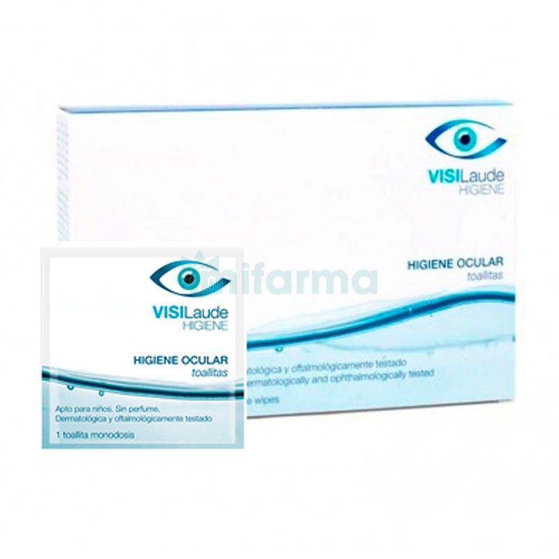 VisiLaude Higiene Ocular 16 Toallitas