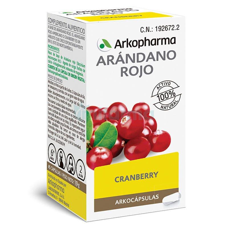 Arkopharma Arkocaps Cranberry 45 Capsulas