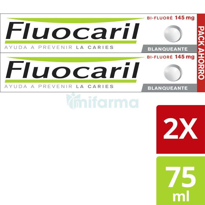 Fluocaril Pasta Dental Blanqueadora 75ml DUPLO