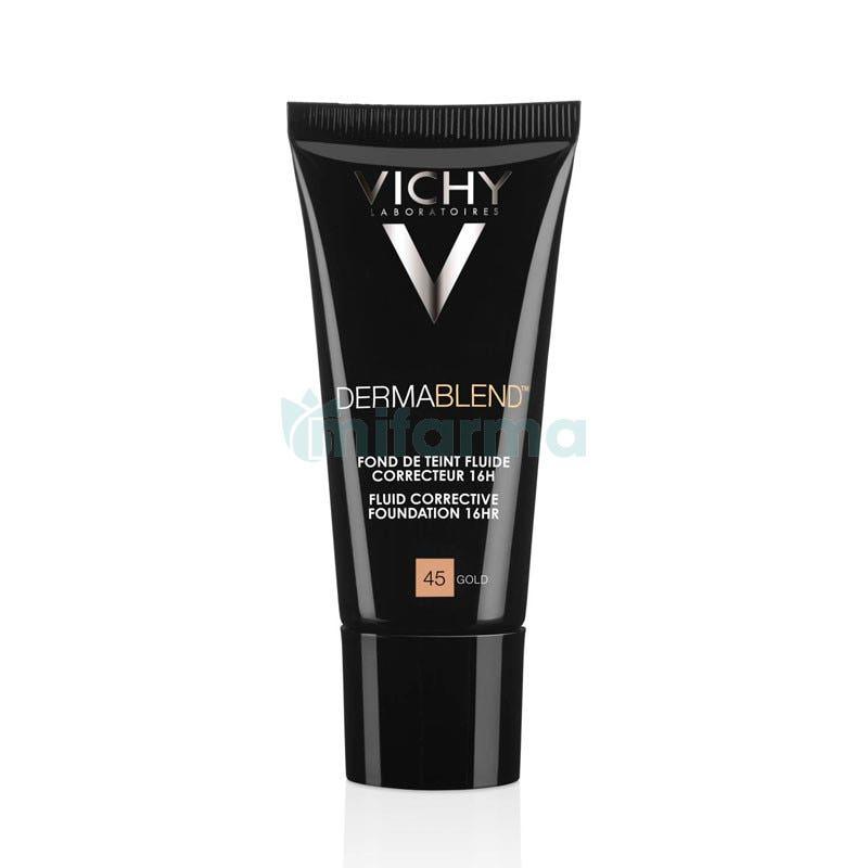 Vichy Dermablend Maquillaje Gold N. 45 SPF35 30ml