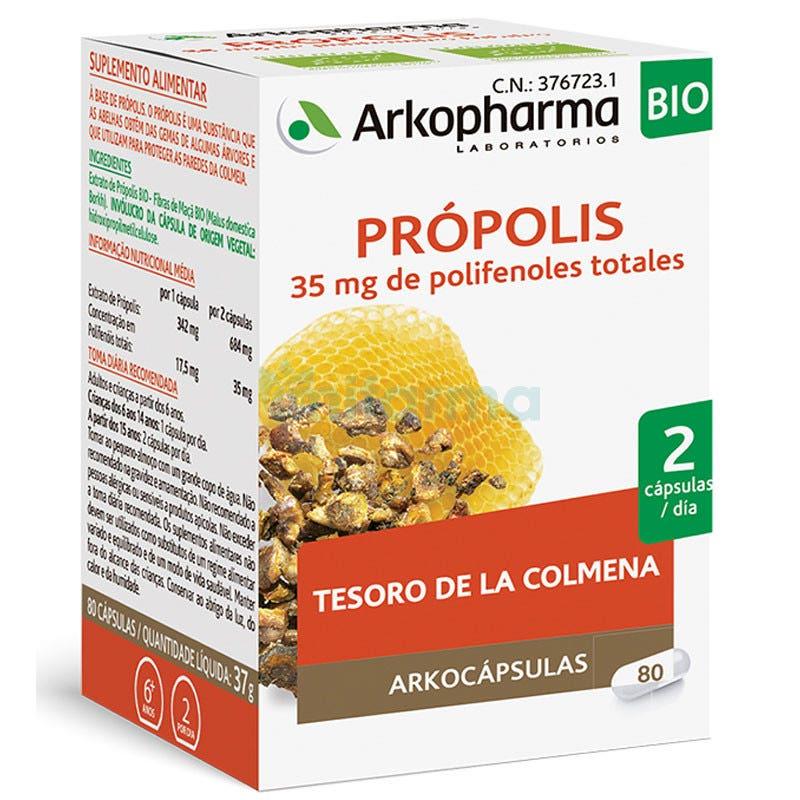 Arkopharma Arkocaps Propolis BIO 80 Capsulas