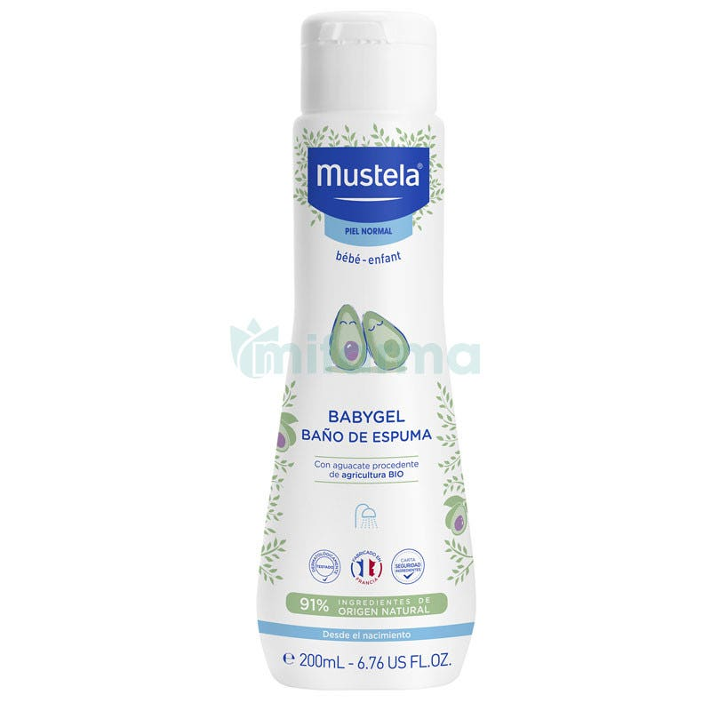 Mustela Babygel Hipoalergica 200ml