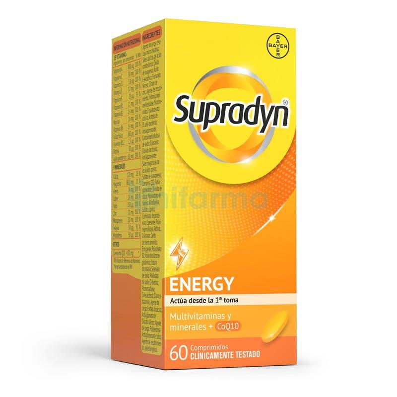 Supradyn Activo Vitaminas y Energia 60 Comprimidos