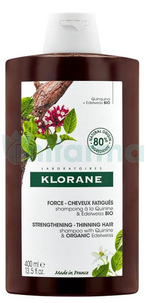 Klorane Shampoing Quinine et Vitamines B 400 ML