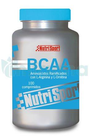 NutriSport Aminoacidos Ramificados BCAA 100 Comprimidos de 1gr