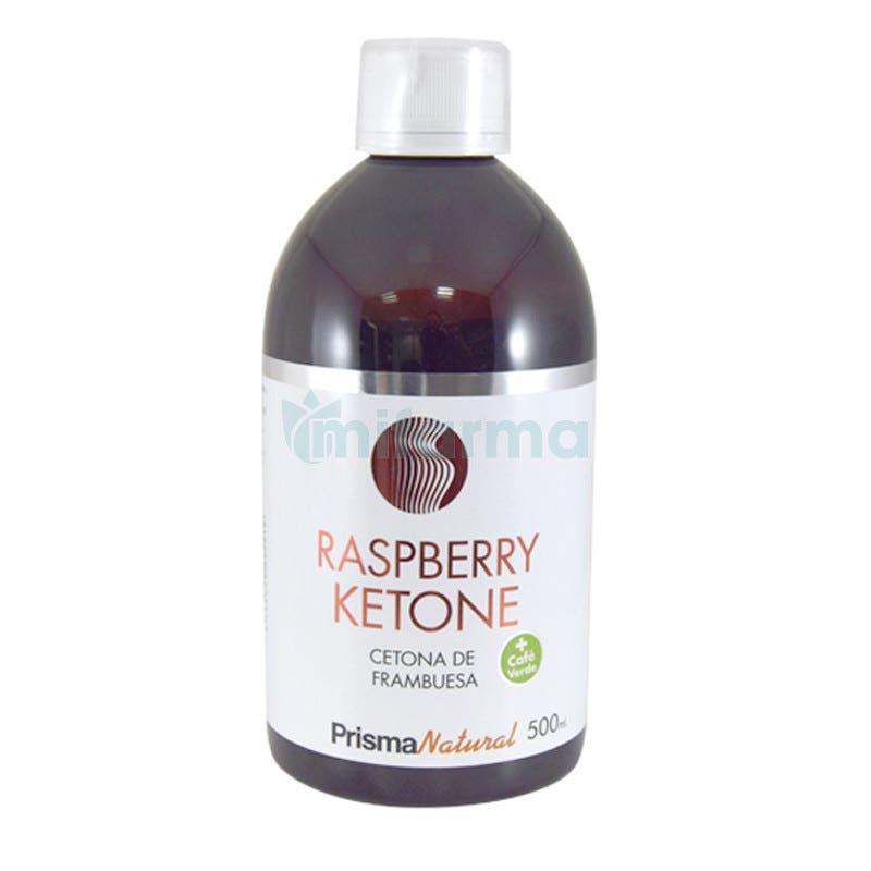 Prisma Natural Solucion Raspberry Ketone Cetona de Frambuesa 500ml Liquido Formula Original del Doctor Oz