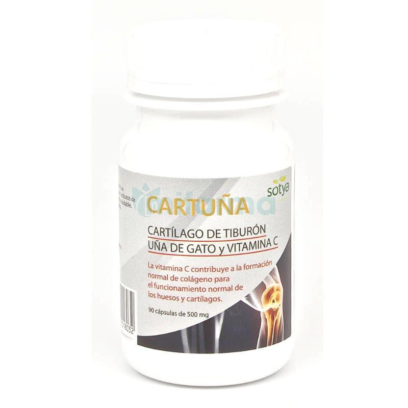 Cartuna Cartilago y Una de Gato Sotya 50 mg 90 Capsulas