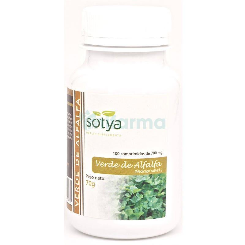 Alfalfa 700 mg Sotya 100 Comprimidos