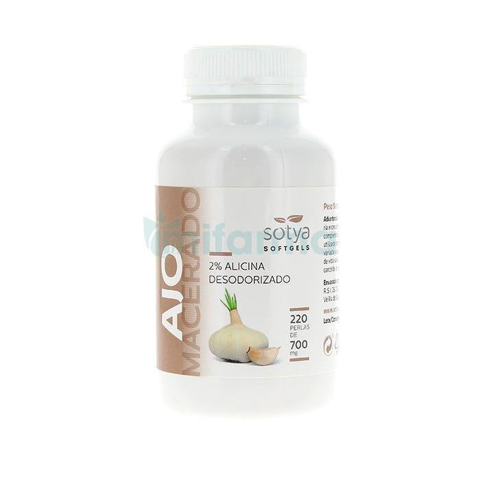 Perlas Ajo 500 mg Sotya 220 Unidades