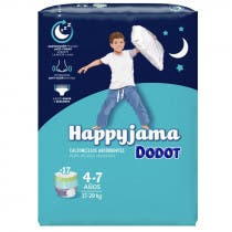 Dodot Happyjama Couche-culotte T7 17-29kg x17 VERT