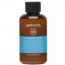 Apivita Champu Hidratante Acido Hialuronico y Aloe 75ml