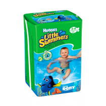 Huggies Little Swimmers Culottes de Bain 3-4 Kg x 12
