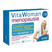 Eladiet Vita Woman Menopausia Dia y Noche 60 Comprimidos