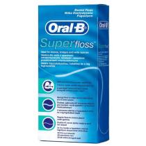 Oral-B Superfloss 50 Fils Pré-Découpés