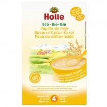 Holle Papilla Integral Cereales Mijo 4m 250gr