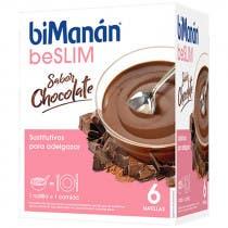 Bimanan Be Slim Natillas Chocolate 6 Sobres