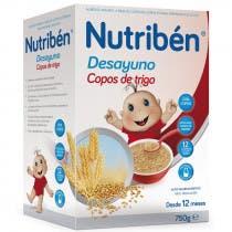 Nutriben Desayuno Copos Trigo 750gr