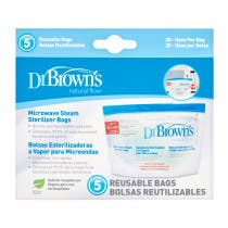 Dr Brown's Bolsas de Esterilizar al Microondas Dr. Brown's 5 Bolsas