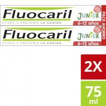 Fluocaril Gel Dentifrico Frutos Rojos Junior 6 12 Anos 75ml   75ml