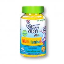 Multivitaminas Ninos Chewy Vites TLC 60 Ositos de Goma