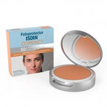 Fotoprotector Isdin 50spf Maquillaje Compacto Oil Free Color Bronce 10g