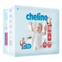 Panales Chelino Talla 5 13-18 KG 30 unidades