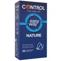 Control Nature Easy Way 10 Preservativos