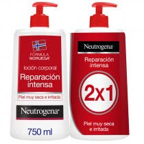 Neutrogena Locion Corporal Reparacion 750ml 750 ml DUPLO ROJA Piel Muy Seca
