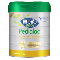 Hero Baby Leche Pedialac 1 Sin Lactosa Huevo ni Gluten 800 g