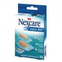 Nexcare 3M Aqua 360o 14 Uds Surtidas