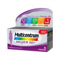 Multicentrum 50 Mujer 90 Comprimidos