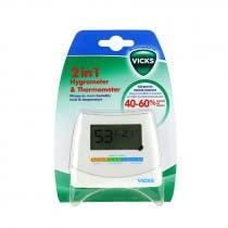 Higrometro y Termometro V70 2 en 1 Vicks