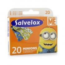 Salvelox Apositos Minions 20 Unidades