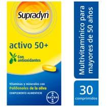 Supradyn Nuevo Activo 50+ Energía y Vitalidad 30 Comprimidos