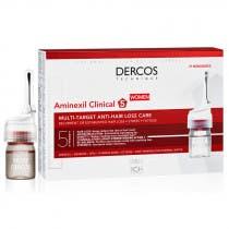 Vichy Dercos Aminexil Clinical 5 Tratamiento Anticaida Mujer 21monodosis 6ml